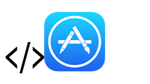 App_Store_Logo with Code