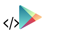 Google-Play-logo with Code
